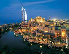 Dubai at night just so so cool