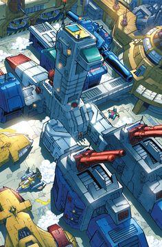 Autobot Fortress Maximus by *markerguru on deviantART Transformers Generation 1, Transformers G1, Gi Joe, Gundam, Video Game Cosplay, Transformers Masterpiece, Morning Cartoon, Mecha Anime, Optimus Prime