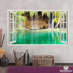 Comprar vinilos decorativos con forma de ventana Aquarium, Stamps, Ideas, Home Decor, Shape, Landscape Photos, Special Effects, Things To Do, Sunsets