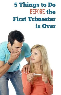 The first trimester of pregnancy can seem overwhelming. If you can manage to do just these five things, your pregnancy will be getting off on the right foot.