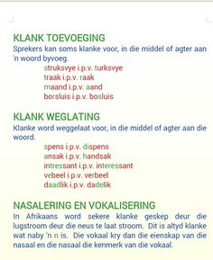 Klankverskynsels 3 Afrikaans Language, Afrikaanse Quotes, Thing 1, Education Architecture, Kids Education, Speech Therapy, Funny Design, School Projects, Success Quotes