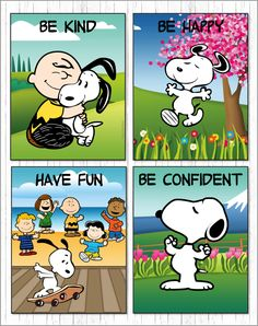 Peanuts classroom: This is a bright and colorful set of banners, posters and a balloon display featuring Snoopy and the gang. Charlie Brown Quotes, Charlie Brown And Snoopy, Peanuts Cartoon, Peanuts Snoopy, Snoopy Cartoon, Snoopy Love, Snoopy And Woodstock, Viernes Gif, Snoopy Classroom
