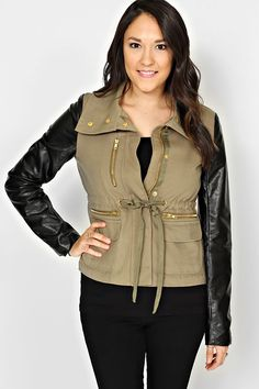 Army Wife - Sweaters & Jackets - Clothing GET THIS AT http://www.modernego.com/?r=827