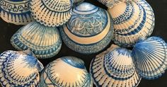 She Paints Sea Shells… These are beautiful...an...