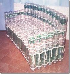 Muebles con Botellas