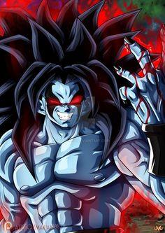 Goku or Lobo Gogeta E Vegito, Dark Goku, Dragon Ball Z, Evil Goku, Mega Anime, Susanoo, Goku Super, Z Arts, Dbz