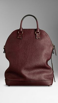Burberry The St Ives in Signature Grain Leather