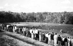 September 18, 1947: Bill France Sr. and four other racing entrepreneurs incorporated the Hillsboro (now Occonneechee) Speedway in Orange County with the aim of bringing auto racing to central #NC #NASCAR