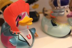 Our Bud Ducks at Modus Christmas In July Press Day 2012