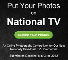 Fine Art America photo contest.. win national exposure on a tv commercial!
