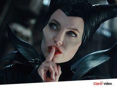 """Shhhhh! Silêncio que vai começar """"Malévola"""" agora no Claro video. Alugue já!"""