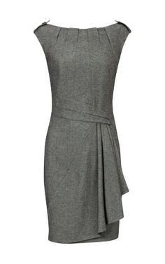 Karen Millen dress--dresses like this make me sad that lawyers still have to wear suits...So many other options when you can eliminate the jacket
