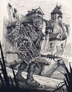 gods-of-the-wasteland:      Ian Miller