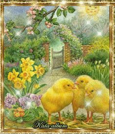 Chick DIY Full Diamond Painting Embroidery Cross Stitch Craft Home Decor Cross Crafts, Easter Pictures, Chicken Art, Chickens And Roosters, Easter Parade, Easter Art, Cross Paintings, Vintage Easter, Vintage Postcards