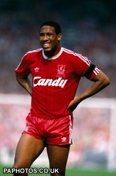 John Barnes during the 1989 FA Cup Final between Liverpool & Everton. #LFC
