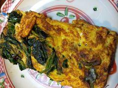 ほうれん草の卵焼き、小柳家伝統の味〜homemade Japanese rolled egg with spinach