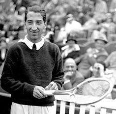 "Jean René Lacoste (2 July 1904 - 12 October 1996) was a French tennis player and businessman. He was nicknamed ""the Crocodile"" by fans because of his tenacity on the court; he is also known worldwide as the creator of the Lacoste tennis shirt, which he introduced in 1929."