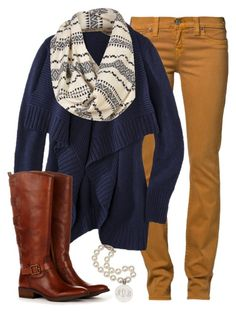 """Mustard Skinnies"" by qtpiekelso ❤ liked on Polyvore featuring True Religion and Sole Society"