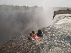 Zambia: Devil's Pool  Situated on the edge of Southern Africa's Victoria Falls, one of the seven natural wonders of the world, Devil's Pool has a view an adventurer dreams of.