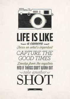 poster tipográfico decorativo con frases 50 x 70 cm camera