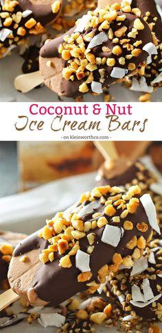 Coconut Nut Ice Crea