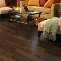Love dark hardwood floors
