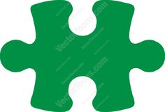 Dark green puzzle piece #game #green #jigsaw #piece #puzzle