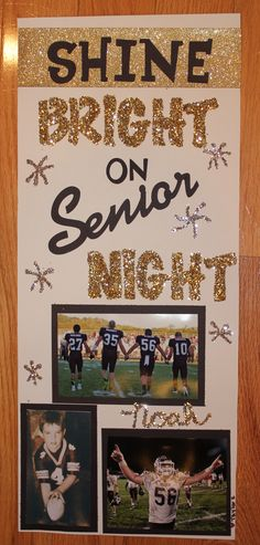Basket Ball Signs Senior Night Locker Decorations 56 New Ideas Football Locker Signs, Football Locker Decorations, Ball Decorations, Volleyball Locker Signs, Locker Room Decorations, Soccer Locker, Senior Pics, Senior Day, Football Banquet