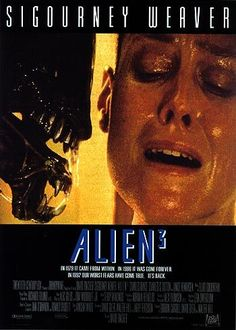Alien 3 (stylized as Alien³) is a 1992 American science-fiction horror film and the debut feature film of director David Fincher. The film is the third installment of the Alien film series. Sci Fi Horror Movies, Sci Fi Films, Horror Movie Posters, Movie Poster Art, Scary Movies, Action Movies, Great Movies, Film Posters, Alien Films
