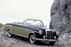 1956 Mercedes-Benz 220S Cabriolet