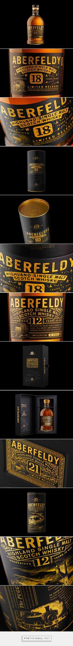 ABERFELDY #packaging by Stranger & Stranger - http://www.packagingoftheworld.com/2015/01/aberfeldy.html