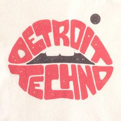 Detroit Techno Women's Racerback Tank T-Shirt, Modal & Cotton | I Club Detroit Techno T-shirts | Made in USA | Designed and Printed in Michigan