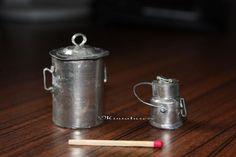 Pot à lait en étain - Tutoriels pour les miniatures ADS POP UP - LS