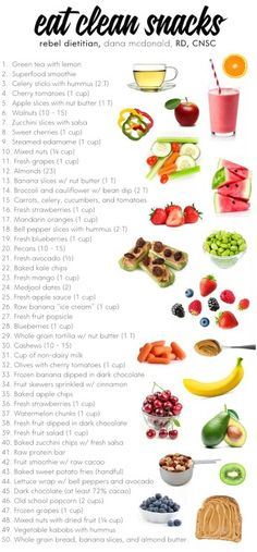 Eat Clean Snacks - Healthy living and nutrition Healthy Habits, Healthy Tips, Healthy Choices, Healthy Recipes, Healthy Meals, Eating Healthy, How To Eat Healthy, Healthy Groceries, Healthy Eating Challenge