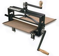 Printing press that attaches to a table!