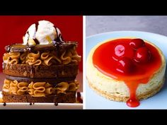 5 Fancy Desserts to Try out This Weekend! Cakes, Cupcakes Fancy Desserts to Try out This Weekend! Cakes, Cupcakes and More by So Yummy - Fancy Desserts, Köstliche Desserts, Dessert Recipes, Yummy Snacks, Yummy Treats, Delicious Desserts, Fancy Cake, Kreative Desserts, Cupcake Cakes