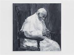Pape François by Yan Pei Ming