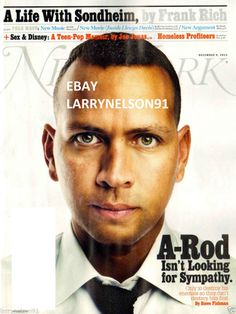 NEW YORK MAGAZINE DECEMBER 9 2013 SEX & DISNEY NY YANKEES A-ROD ALEX RODRIGUEZ