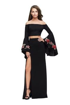8134d781cc12 2018 Mac Duggal Prom Rompers with Overskirt