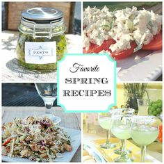 The best spring recipes--inspiration for your warm-weather menu!