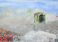 Gezi Parkı nı anlatan bir tablo