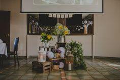 Rustic wedding decoration // Rustiikkinen hääkoristelu
