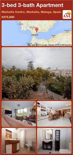 3-bed 3-bath Apartment in Marbella Centro, Marbella, Malaga, Spain ►€475,000 #PropertyForSaleInSpain