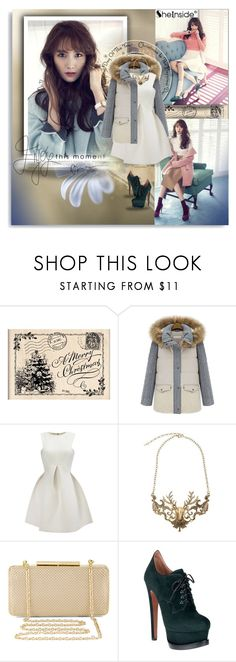 """""""Sheinside - Day of the YEAR!"""" by shinee-pearly ❤ liked on Polyvore featuring BCBGMAXAZRIA, Alaïa and Sheinside"""