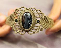 Armband Banden-Onyx von pura-energia auf DaWanda.com