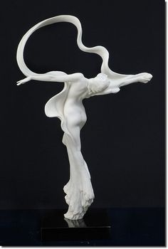 Dance Of Beauty by artist Gaylord Ho - made of Parian II