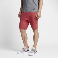 Nike Sportswear Tech Fleece Men's Shorts Size Medium (Red)