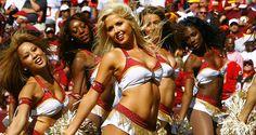 Washington Redskins (NFL)  Cheerleaders. 2012. Ashley