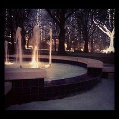 Harding University at Christmas time; I want to go there sooo bad!
