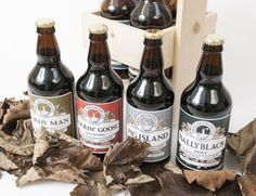New Ards Brewing packaging designed by Darragh Neely Design Works.